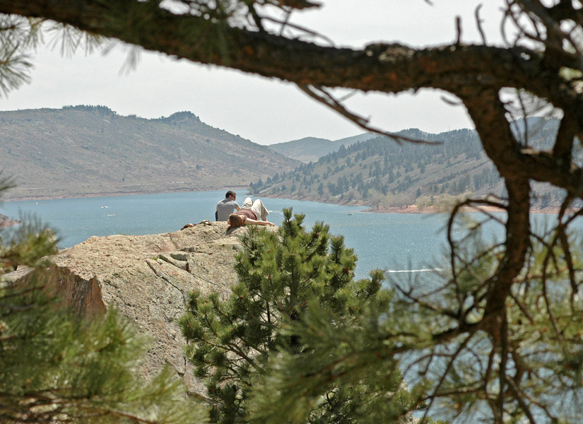 Image 1: Horsetooth Reservoir