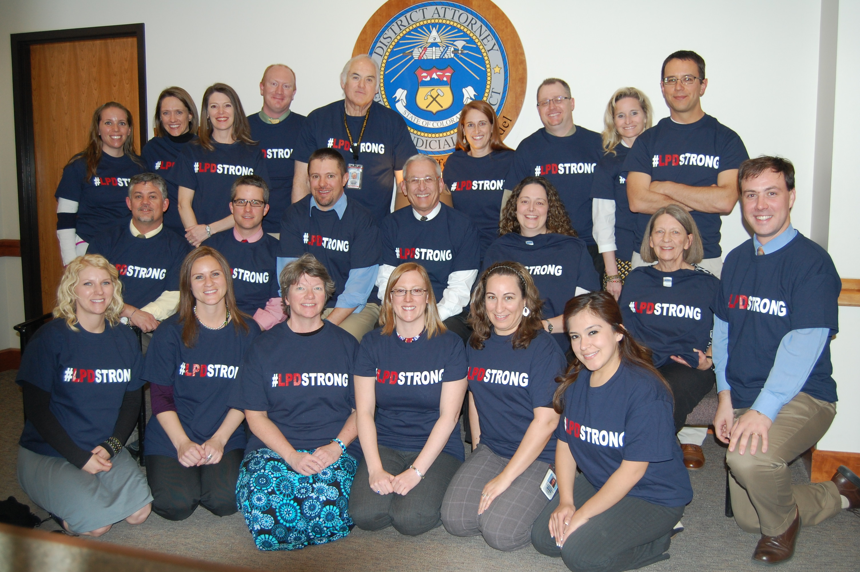 Image 4: LPD Strong in Support of the Loveland Police Department