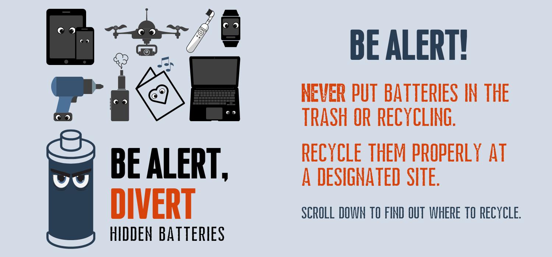 Image 4: Be Alert! Divert Hidden Batteries