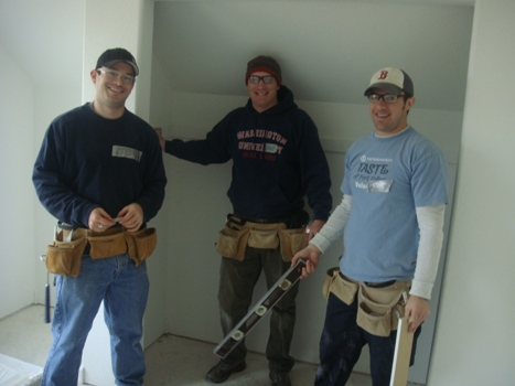 Image 5: Building Homes for Habitat for Humanity