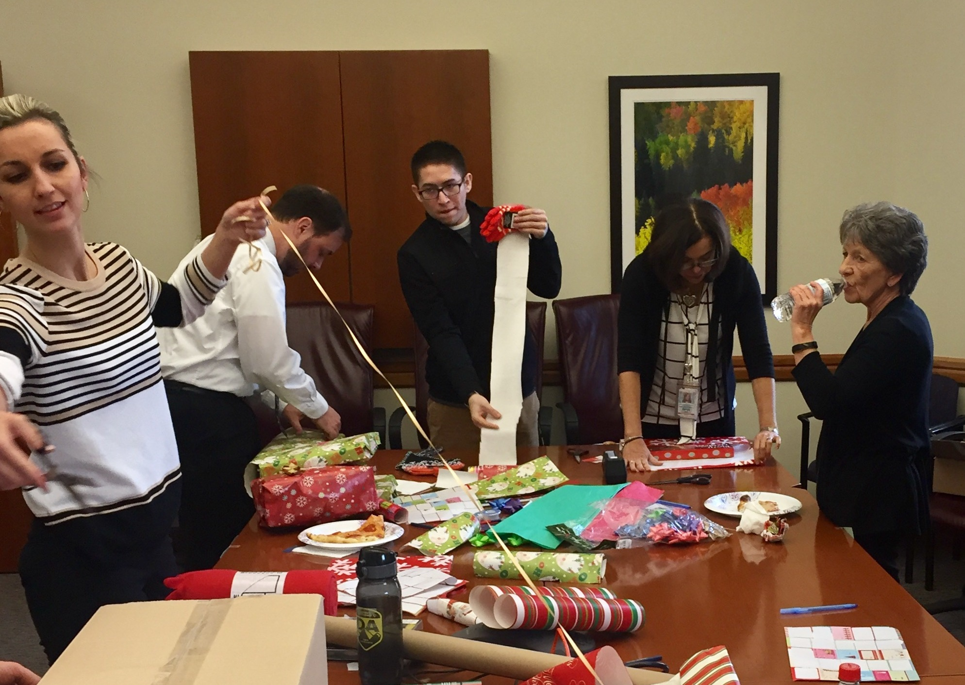 Image 6: Wrapping for Adopt-A-Family