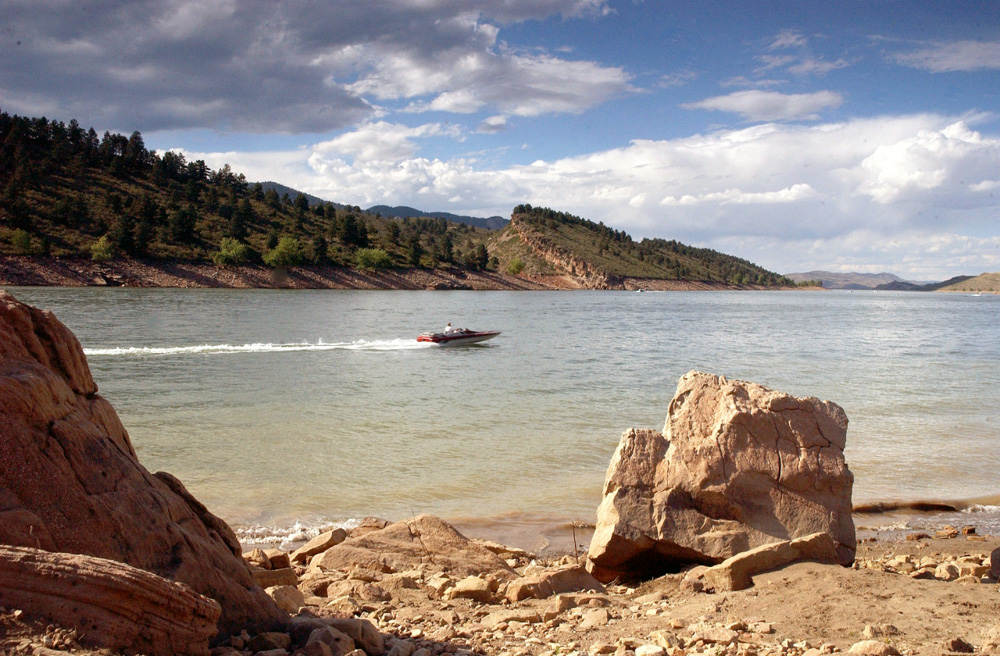 Image 2: Horsetooth Reservoir
