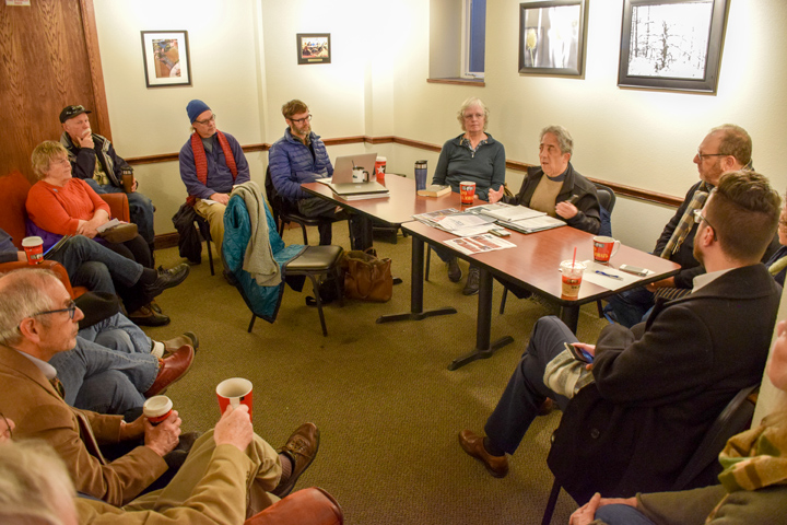 Enlace de reuniones comunitarias