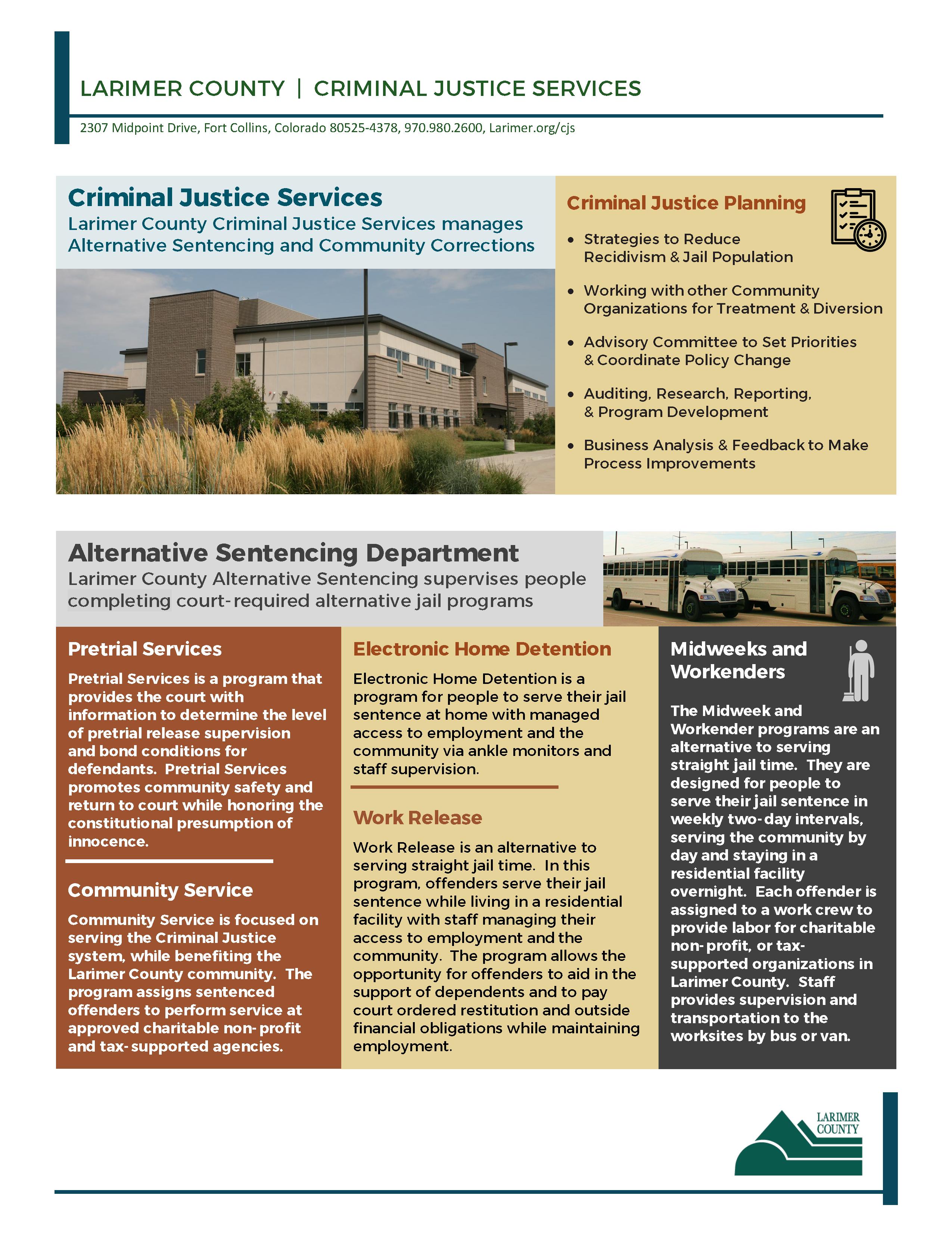 Imagen 1: Descripción general de los programas CJS - Página 1 de 2