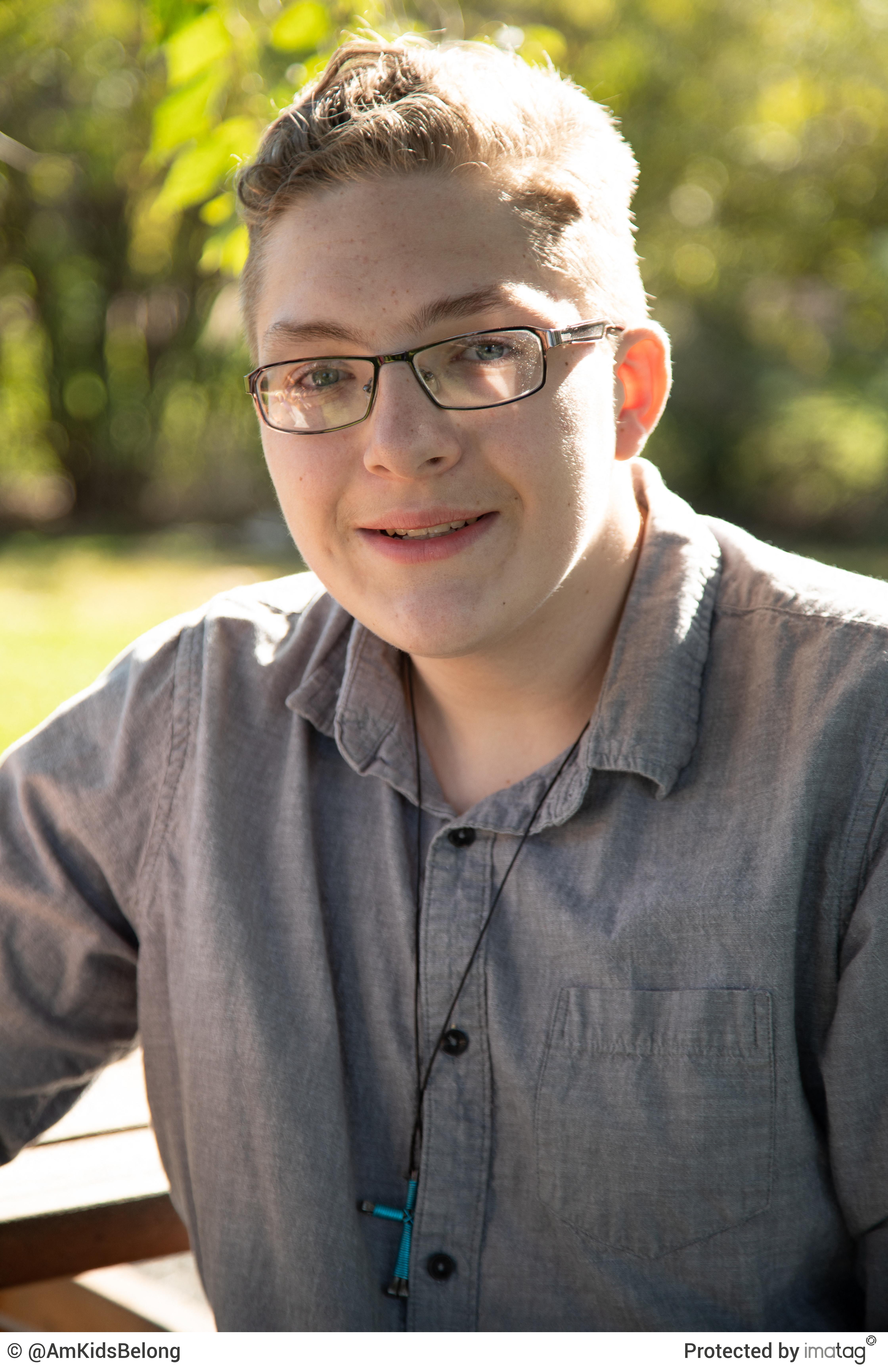 Image 1: Colton, Age 17