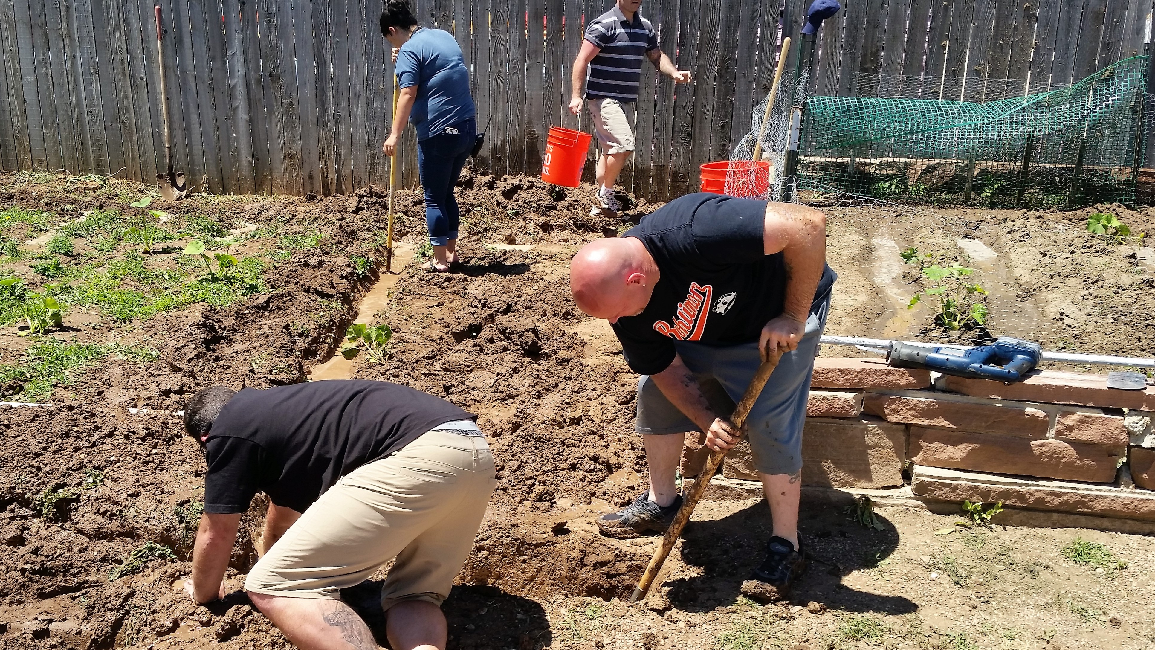 Image 6: Inspire others to grow (Community Corrections Garden & Farmer's Market)