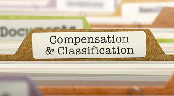 Compensation  &  Classification link
