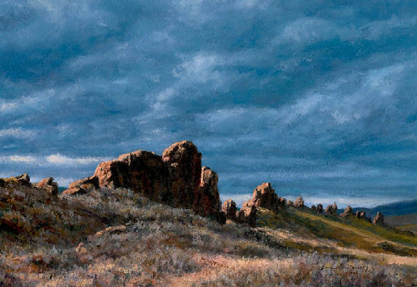 "Image 13: ""Evening at Devil's Backbone"" by Jim Disney, 2006 Visual Artist of the Year"