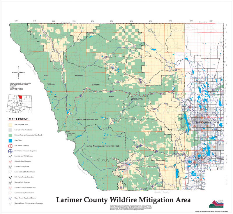 larimer county Welcome to the larimer county land information on-line portal this online portal offers access to: permits, inspections, land use/zoning applications, requests and licenses provided by the building, code compliance, engineering, enviromental health, planning, and weeds departments.