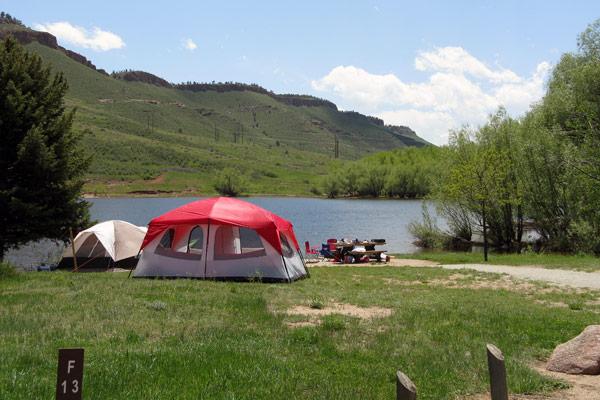 Image 10: Flatiron camping