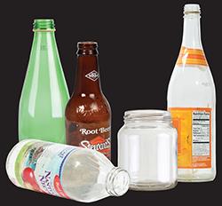 Imagen 6: Botellas y frascos de vidrio