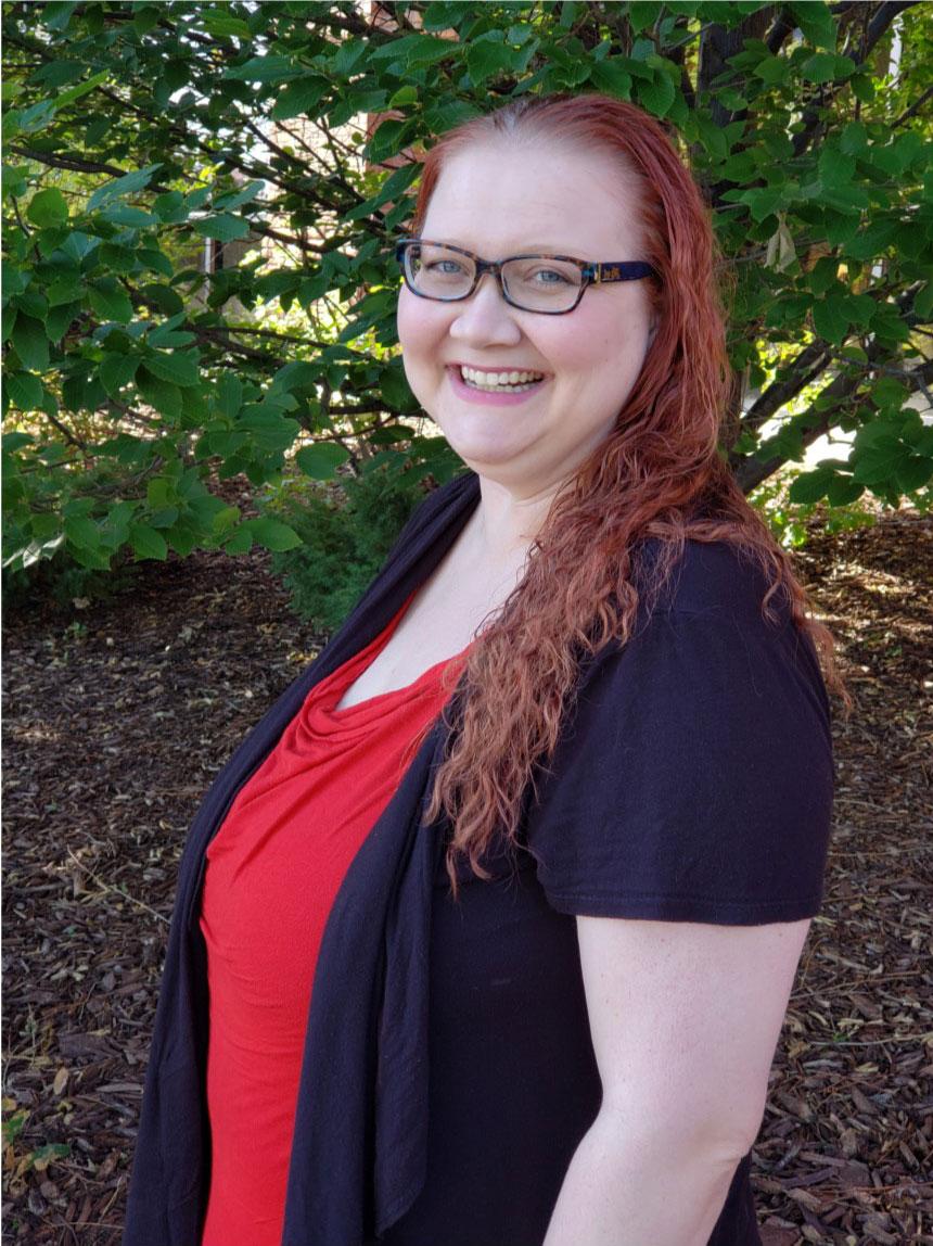 Imagen 4: Megan Gurka, Especialista del Departamento I