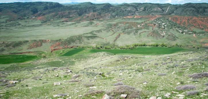 Image 2: Hawk Canyon Ranch landscape view, courtesy Charlie Johnson