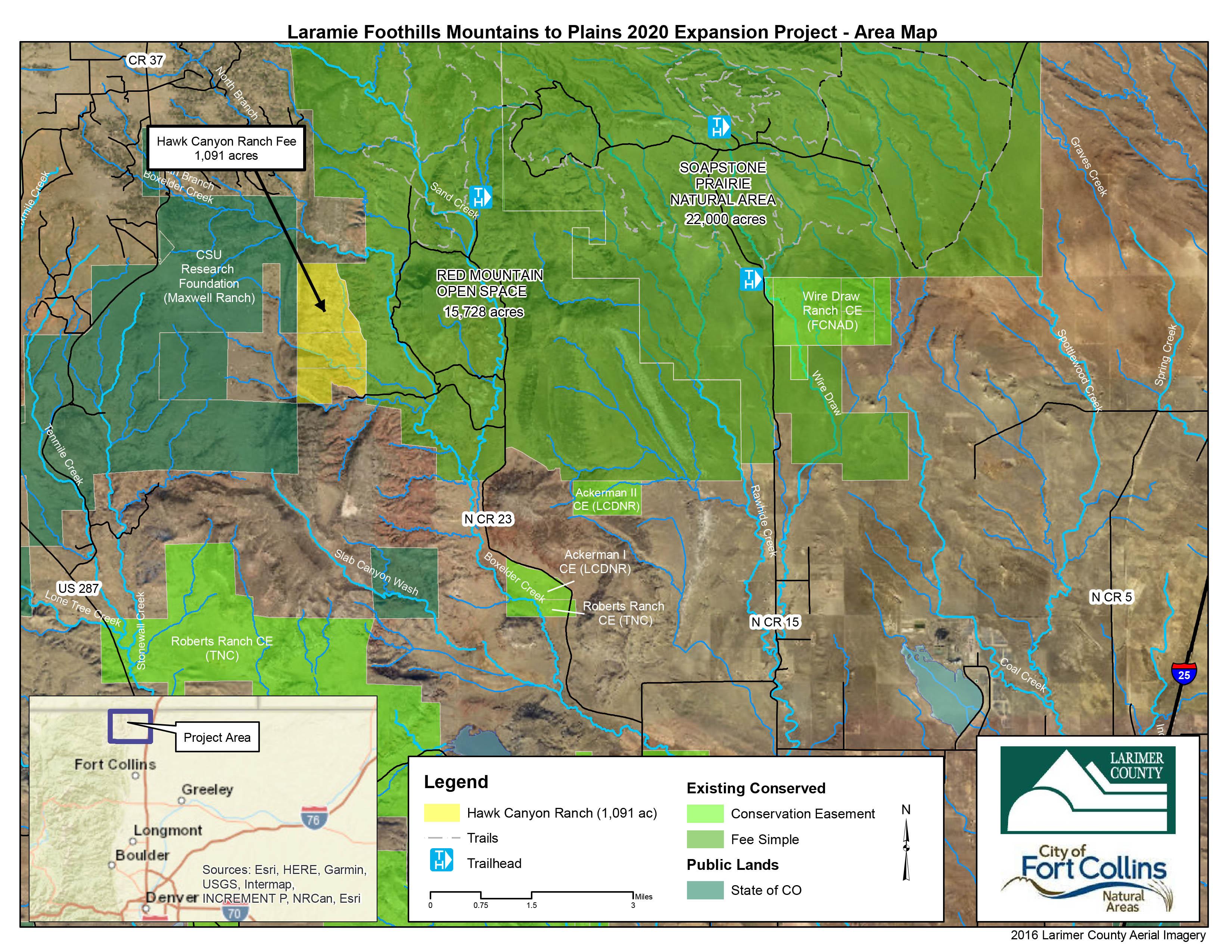 Image 1: Hawk Canyon Ranch Context Map