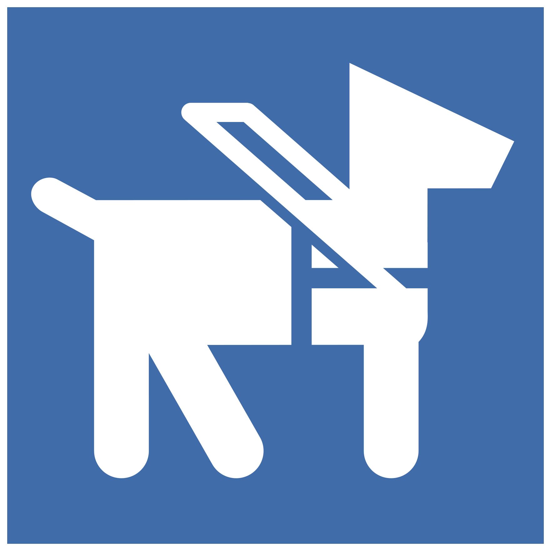 Icono de animal de servicio