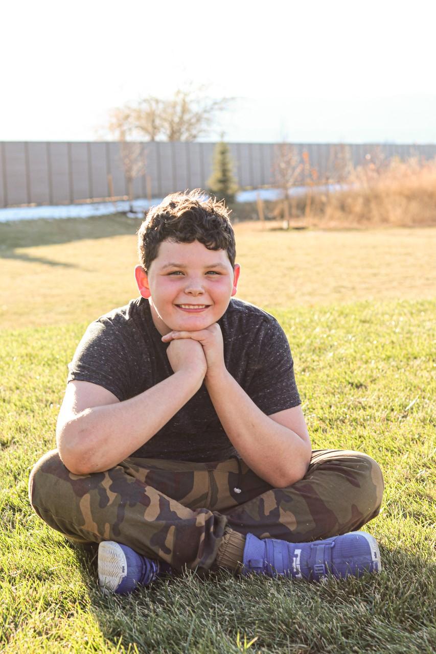 Imagen 1: Aydin, 12 años