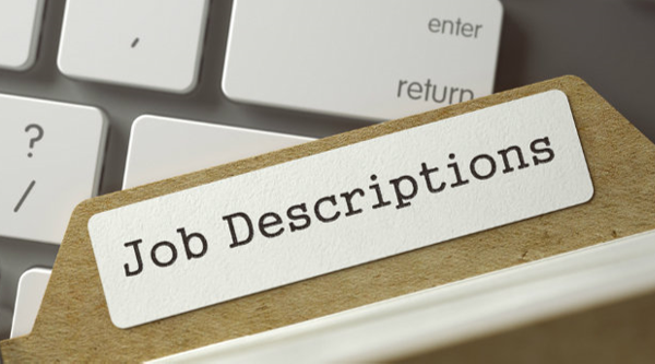 Enlace de descripciones de trabajo