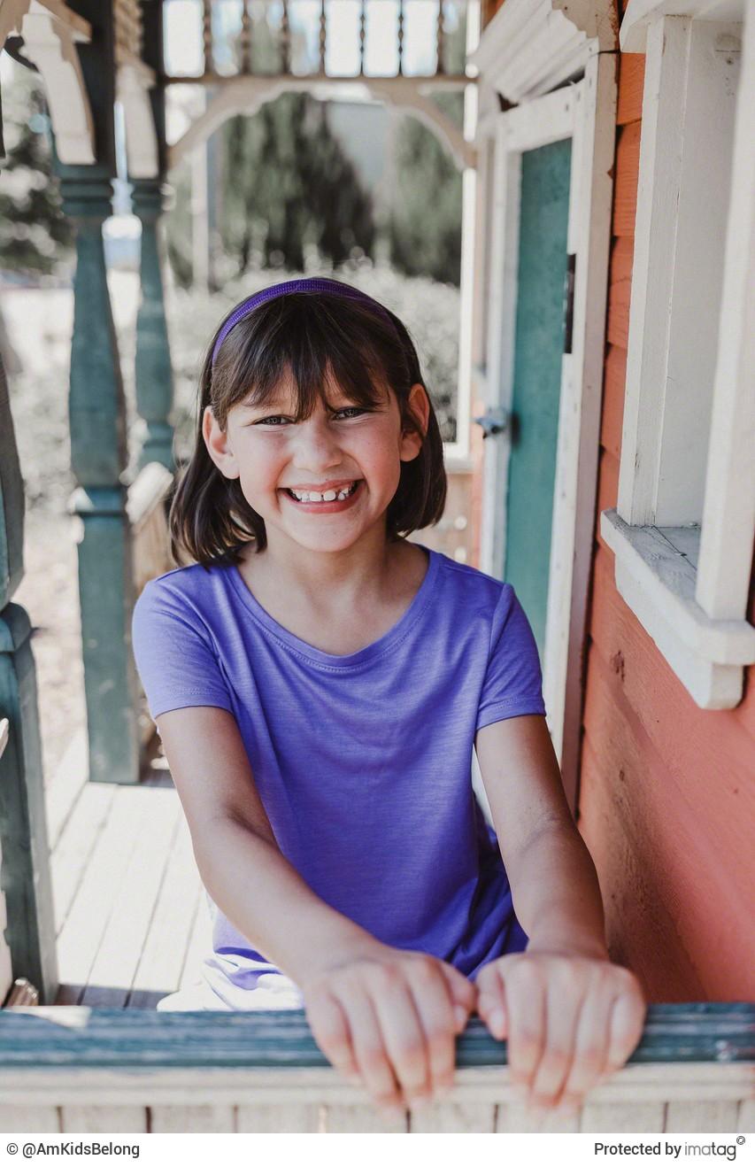 Image 5: Justine, Age 8