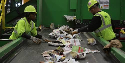 Enlace de desvío de residuos