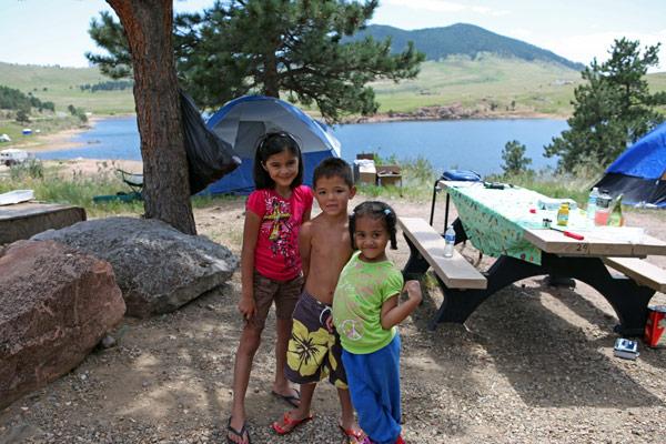 Image 8: Pinewood camping