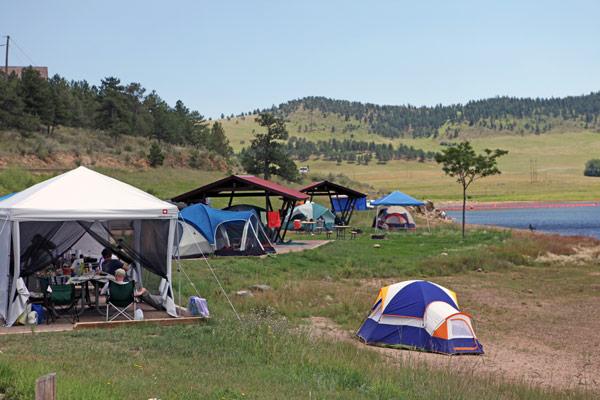 Image 9: Pinewood camping