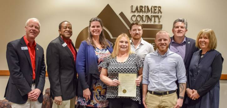 Board of County Commissioners Declares January 24, 2018 as Debbie Pierson Day