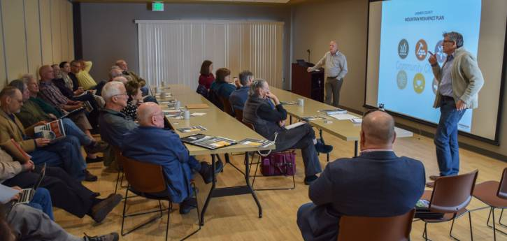 April 2018 Citizen Meeting in Estes Park with Commissioner Donnelly
