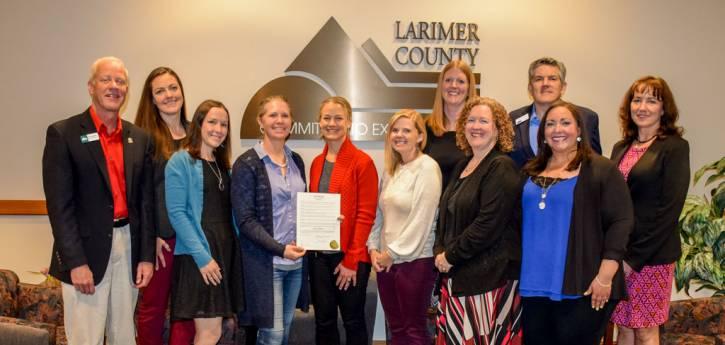 Mayo es el mes de cuidado de crianza en el condado de Larimer