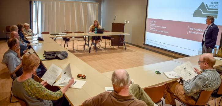 Commissioner Citizen Meetings: Results of the 2018 Larimer County Citizen Survey