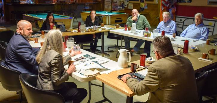 Wellington Citizen Meeting with Sean Dougherty and Linda Hoffmann, November 2018_Photo Alisha Jeffers