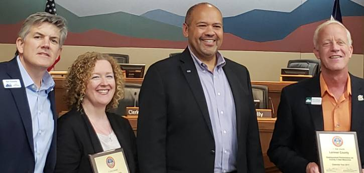 Larimer County Human Services Receives Award from State