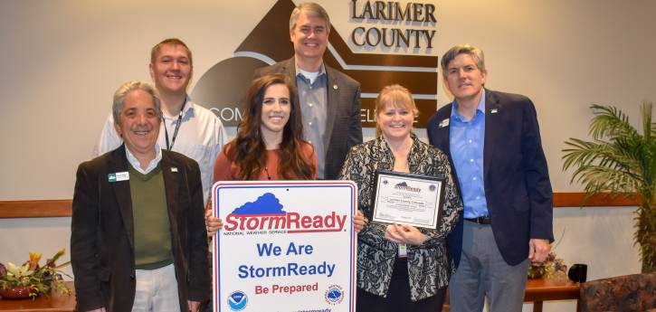 Larimer County Stormready Designation