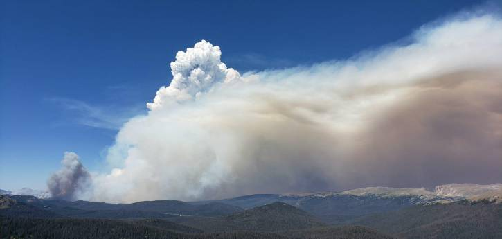 Cameron Peak Fire EOC Situation Reports