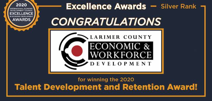 LCEWD Receives Excellence in Economic Development Award