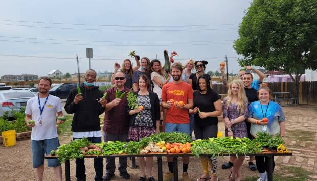 Community Corrections garden: more than just a fall harvest