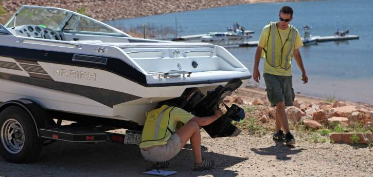 Agency Partners Take Action to Keep Local Waterways Free of Mussels