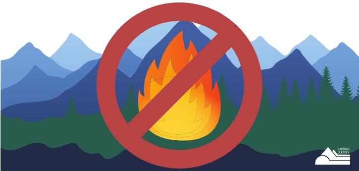Prohibición de incendios del condado de Larimer 2020