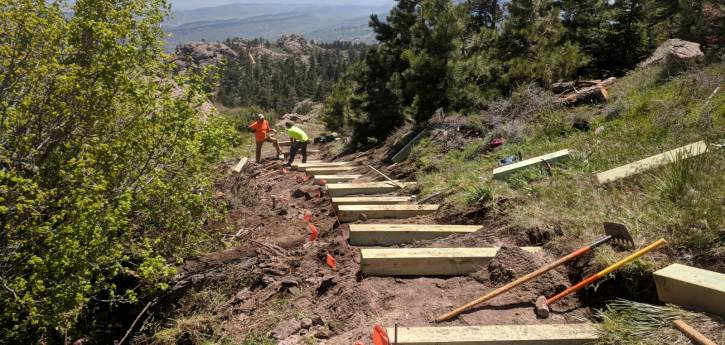 Section of Horsetooth Rock Trail Closed Temporarily for Maintenance