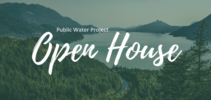 Second public water project open house