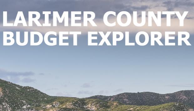 Larimer County Budget Explorer Is Live