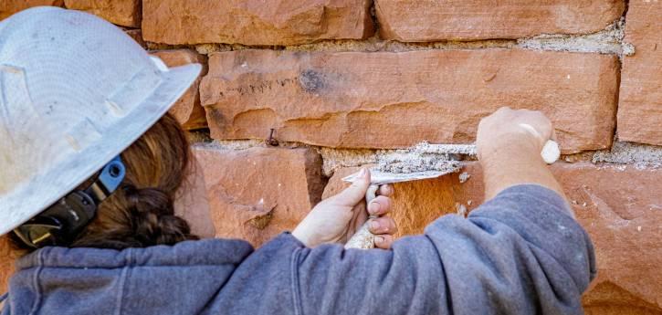 volunteers restoration open space historic restoration