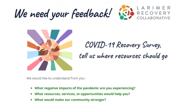 COVID-19 Recovery Survey, tell us where resources should go