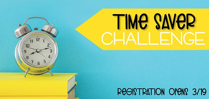 Time Saver Challenge