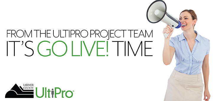 UltiPro is Live!