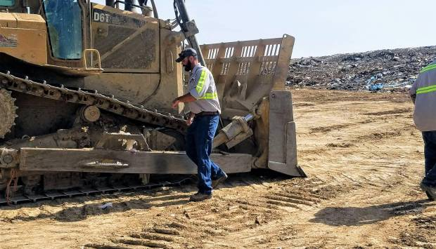 Landfill operator and the D6