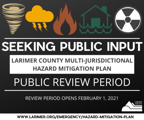 Revisión pública del plan de mitigación de peligros multijurisdiccionales