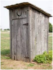 Limited Wastewater Outhouse