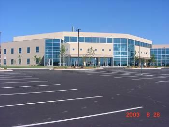Exterior View of Vote Center