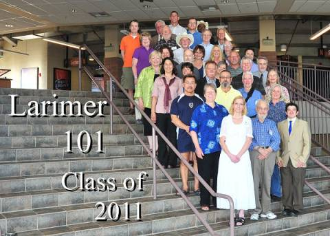 Clase Larimer County 2011 101
