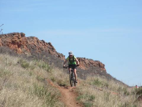 Mountain biking Blue Sky Trail